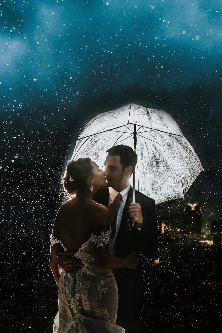 This Couple Had The Most Stunning Rainy Day Wedding Despite Some Last Minute Change Of Plans Wedding Wedding Couples Brooklyn Bride