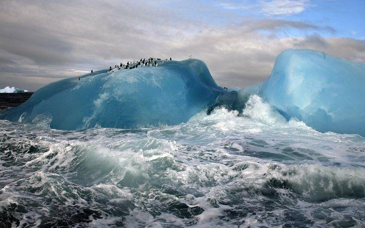 Blue Iceberg by Maria Stenzel.