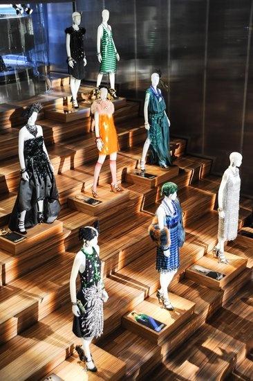Catherine Martin and Miuccia Prada Dress Gatsby: Source: Billy Farrell/BFAnyc.com.