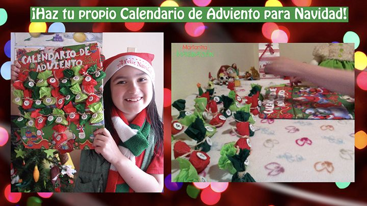 Calendario de Adviento para Navidad - Advent Calendar