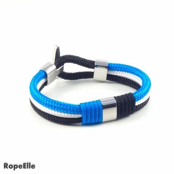 Rope bracelet, Nautical bracelet, Mens bracelet, Birthday Gift, Woman Bracelet, Jewelry, Sailor bracelet,Sale, Couples bracelets,Paracord