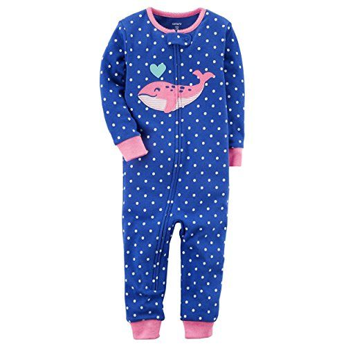 Baby Girls 1 Pc Cotton 331g253 Baby Girl Pajamas Carters Baby