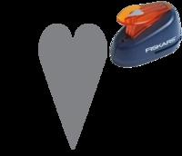 Une perforatrice coeur, idéale pour personnaliser vos faire-parts de mariage #perforatrice #coeur #fairepart #mariage #scrapbooking #punch