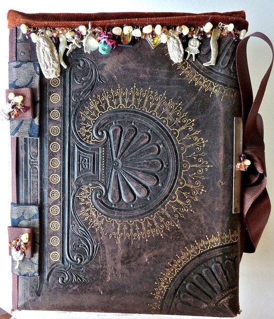 For Spells and potions - from the full tilt boogie online bookbinding class