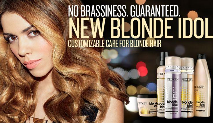 Redken's New Blonde Line