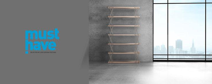 """Tytuł Must Have 2014 Łódz Design dla """"Regału o zmiennych wysokościach""""! Bardzo się cieszymy:) / Must Have 2014 award by Lodz Design for our bookcase. We are very glad!"""