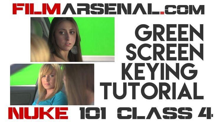 Green Screen Keying - Nuke 101 Class 4
