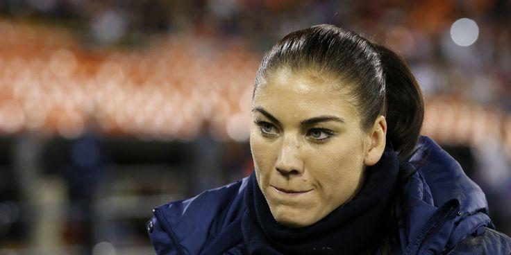 Top Sports Woman – Hope Solo | www.topsportswomen.com
