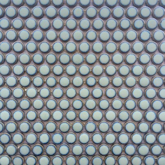 Dark Green Penny Tile