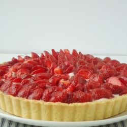Strawberry Mascarpone Tart recipe (click on picture for recipe)