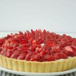 Strawberry Mascarpone Tart recipe (click on picture for recipe)