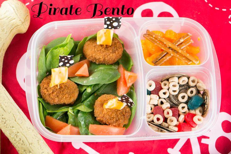 Pirate Bento Lunchbox Ideas #Bento