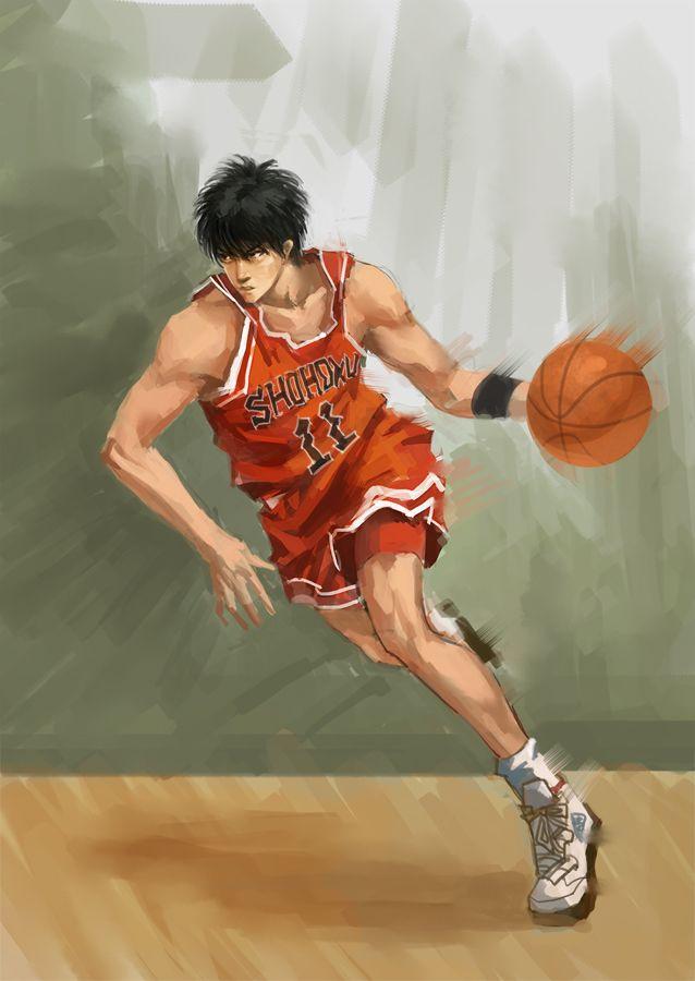 Slam dunk by denglei.deviantart.com on @deviantART