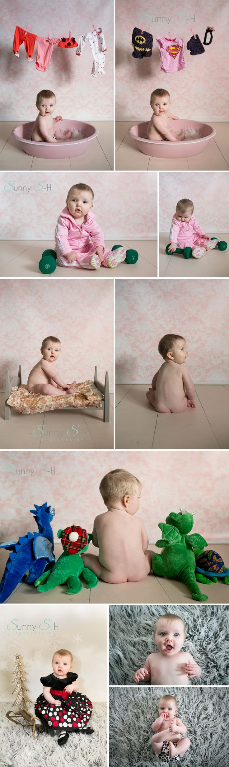 6 month baby stage photo shoot - Winnipeg Baby Photography www.sunnys-hphotography.com