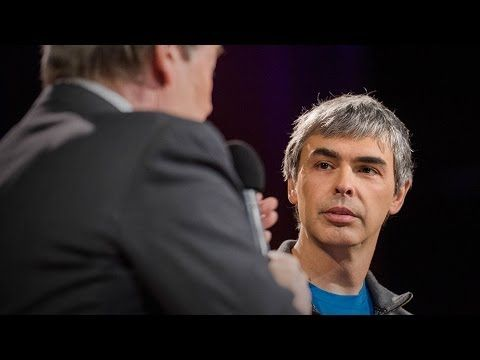 Larry Page: Where's Google going next? - YouTube #LarryPage #Google