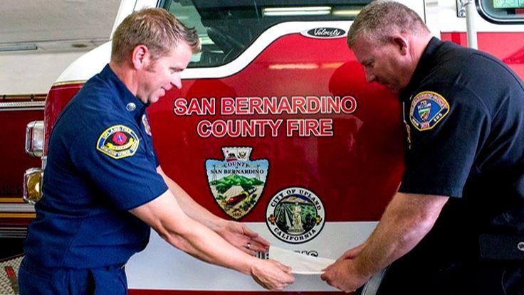 Upland Firefighters Sworn into San Bernardino County Fire - http://in-brief.news/2017/07/26/35049/upland-firefighters-sworn-into-san-bernardino-county-fire/