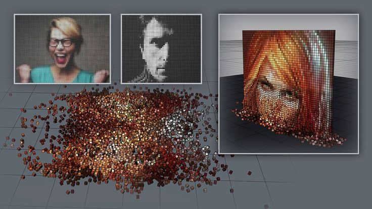 How to Convert any Image to Pixel Art in Cinema 4D, Convert any Image to Pixel Art in Cinema 4D, Cinema4D, Cinema 4D, Cinema4D tutorial, Cinema 4D tutorial, Free Cinema4D tutorial, Free Cinema 4D tutorial, Mustapha FERSAOUI