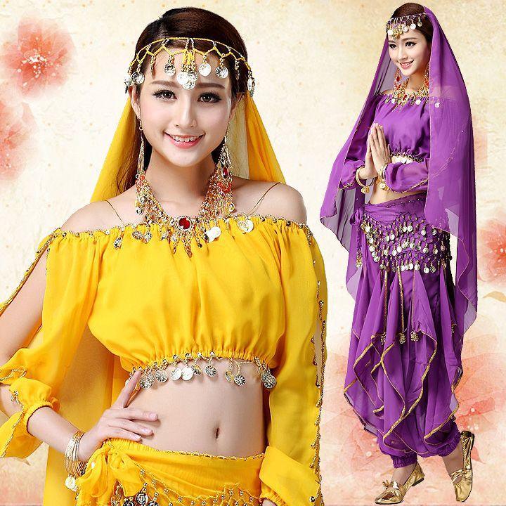 Индийские-платья-сари-костюмы-из-Индии-одежда-Топ-Штаны-танец-живота-одежда-костюм-набор-для-женщин.jpg (720×720)