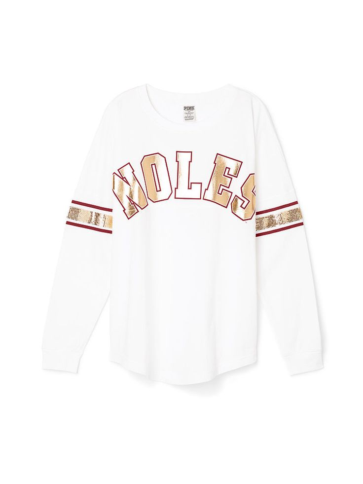 Florida State University Limited Edition Varsity Crew - PINK - Victoria's Secret
