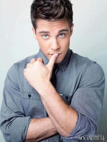 Dean Geyer South African-Austrailian... not a bad combo.