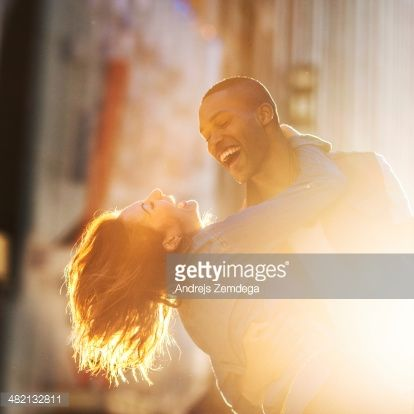 Stock Photo : Couple in New York