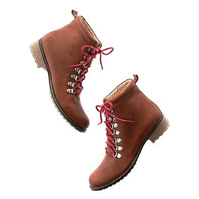 On the hunt for cute girly hiking boots..could these be the ones?