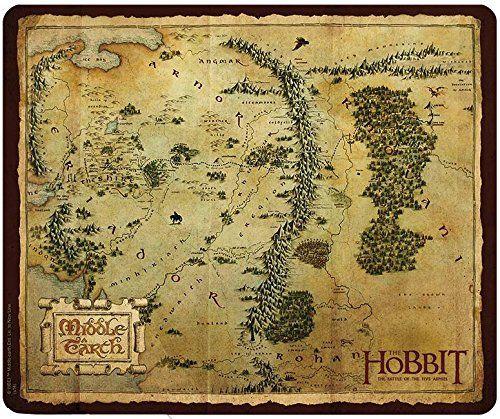 The Hobbit Mousepad   Mauspad: Middle Earth