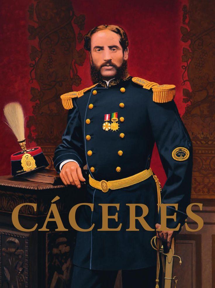 Andres Avelino Caceres. HISTORIA DEL PERU GUERRA DEL PACIFICO CHILE GRAU