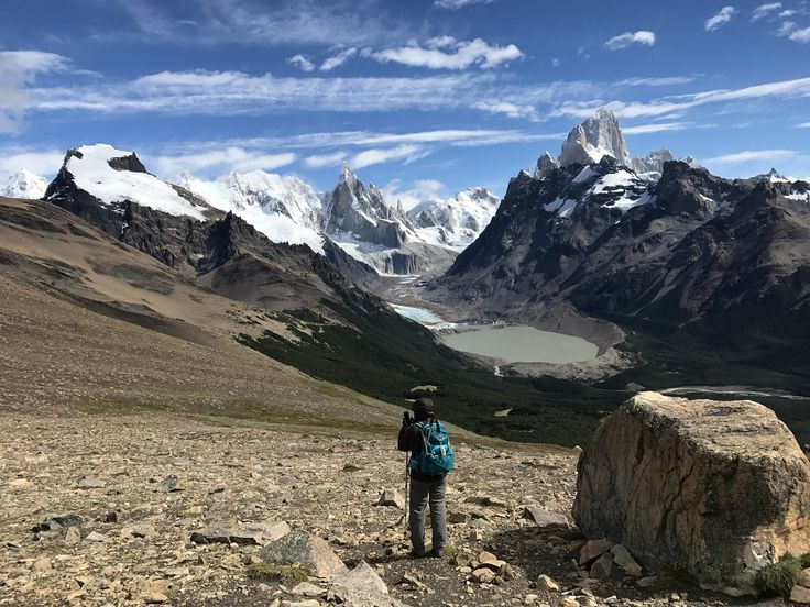 Sarah Lundeen travelled on our Patagonia Hiking Adventure 'Condor' trip, and sent us this great photo of Torres del Paine National Park.   #adventuretravel #activeadventures #patagonia #hiking #photography