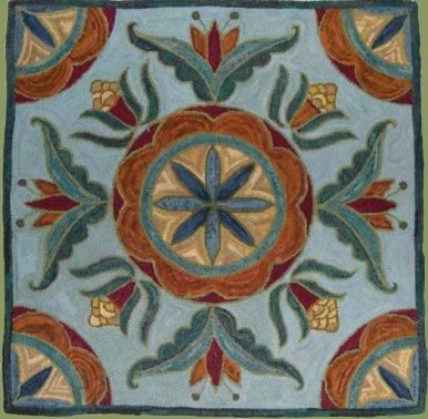 Hill Country Rug Works   Designs By Bea Brock