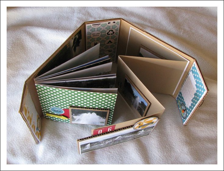 scrapbooking idea for mini album ♥