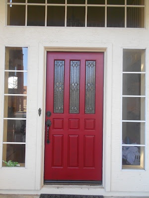 17 best House Exterior images on Pinterest Red doors Red front