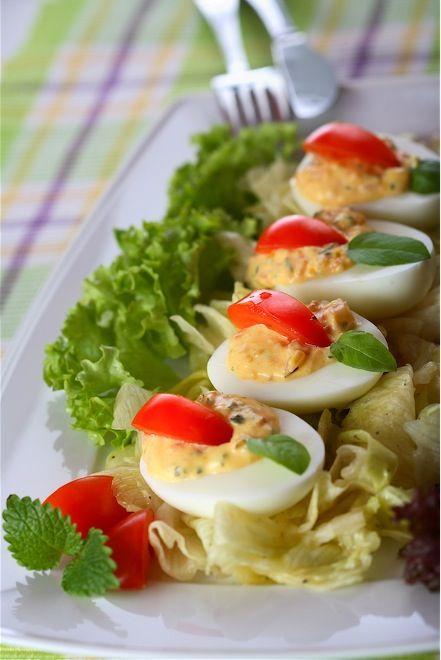 Stuffed Eggs (Uova farcite) |Italian Food Net
