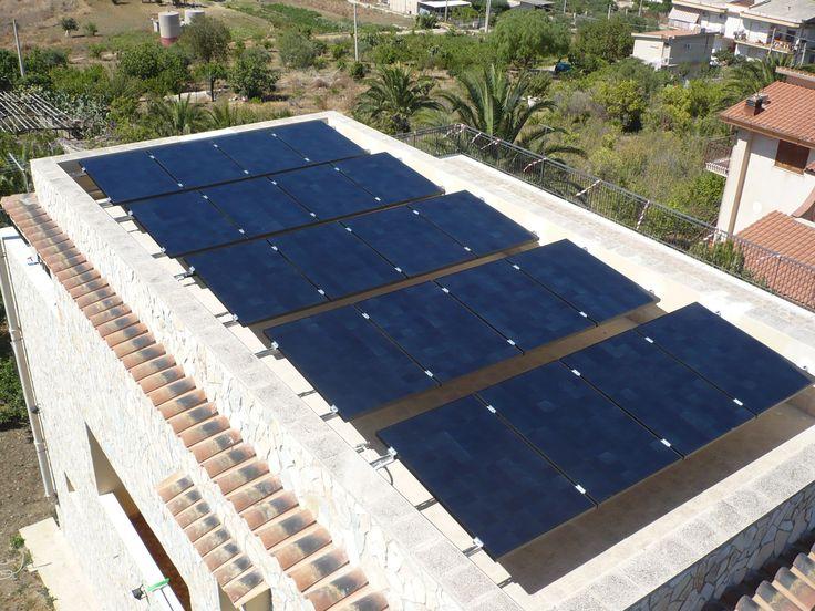 13 migliori immagini impianti fotovoltaici su tetti piani for Migliori piani di garage