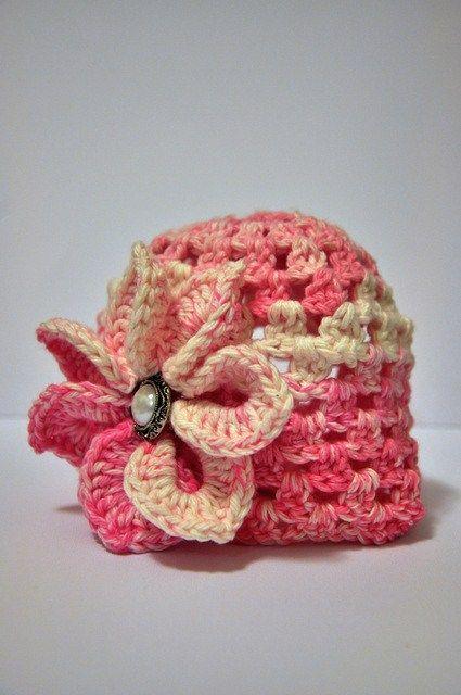 Free Baby Crochet Hat Pattern.