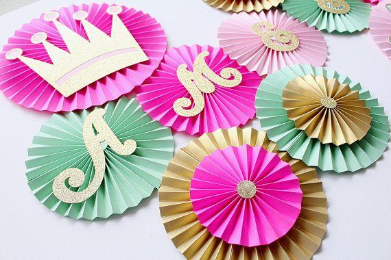 Decoraciones para fiestas de princesa  princesa Baby Shower
