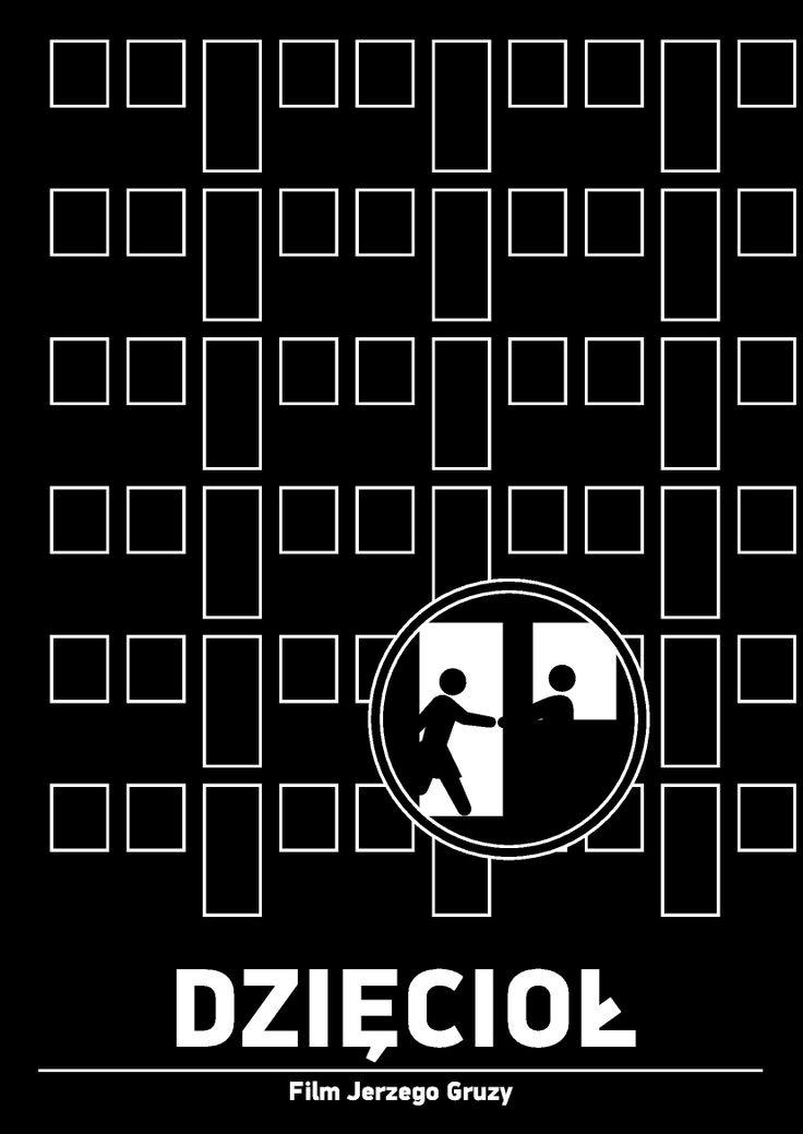 """Plakat do filmu """"Dzięcioł"""" Wersja druga. Dla anglojęzycznych obglądających: http://www.imdb.com/title/tt0065672/"""