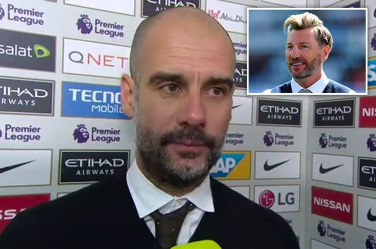 Manchester City fan slams Robbie Savage for criticising Pep Guardiola