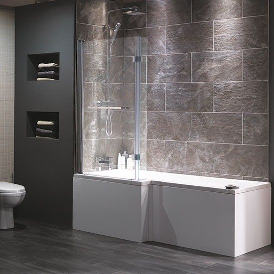 Cambridge shower-bath from Victoria Plumb | Bathroom fittings | Bathroom | PHOTO GALLERY | Ideal Home | Housetohome.co.uk