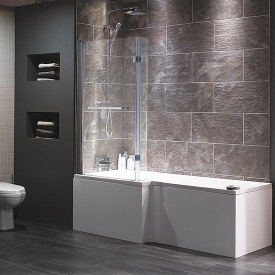 Cambridge shower-bath from Victoria Plumb | Bathroom fittings | Bathroom | PHOTO GALLERY | Ideal Home | Housetohome.co.uk