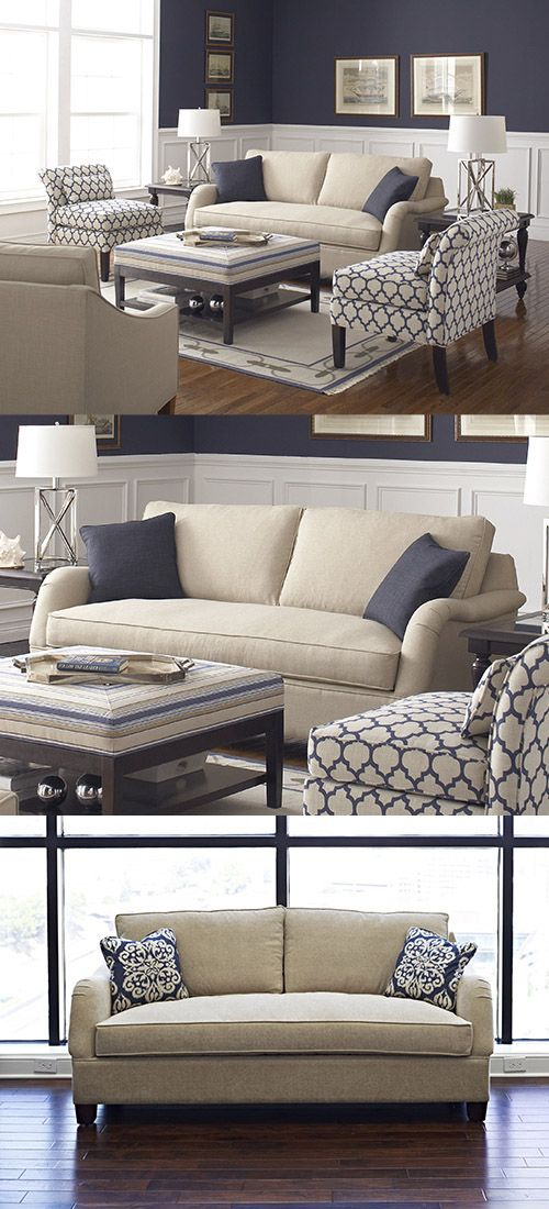 78 best ideas about navy blue couches on pinterest for Navy couch living room