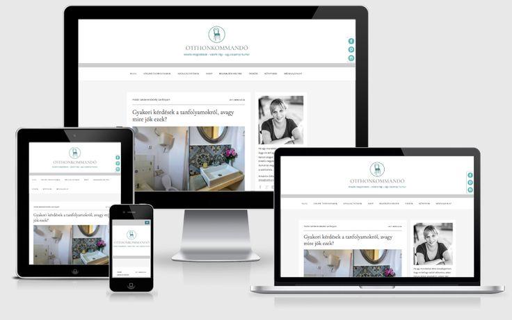 Otthonkommandó (2017, sitebuilding, WordPress dev, Woocommerce dev, data migration, design: Otthonkommandó)