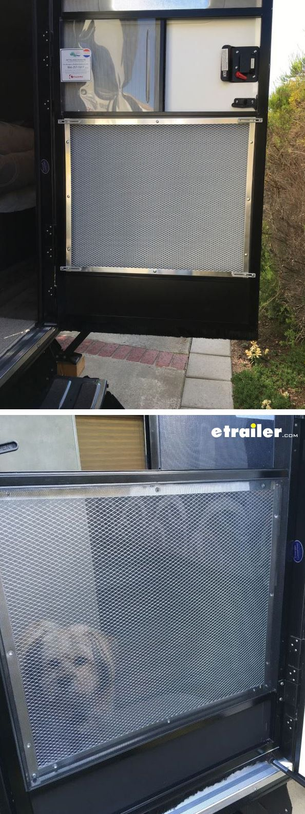 21 best vehicle organization images on pinterest vehicles install this aluminum standard grille on your rvs screen door to provide protection and easier exit it helps prevent people pets from vtopaller Image collections
