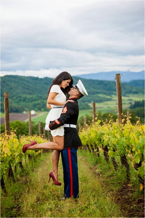A Military Engagement Session by Imago Dei Photography via www.lemagnifiqueblog.com