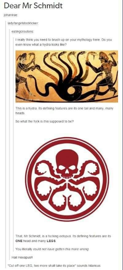 Ok motherf*ckers. If you even paid any attention to the show you would have remembered them mentioning that they chose an octopus for its strength and cunning. It is a great predator.   ~Alex H ( sry for the language )