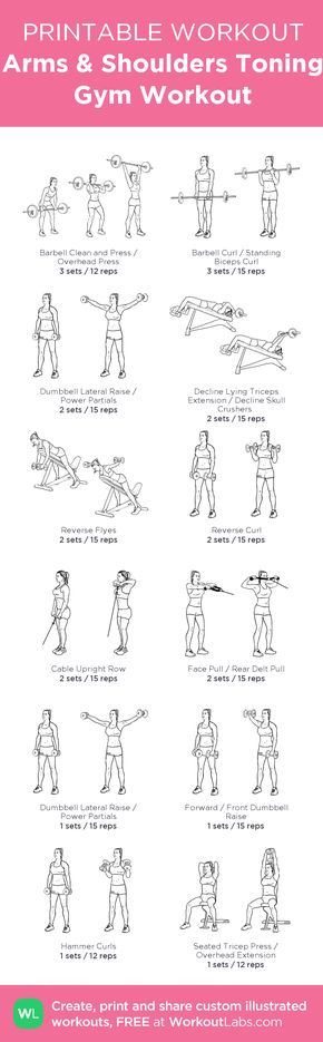 gym workout for men pdf