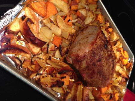 Pork Roast With Apples And Sweet Potatoes Recipes — Dishmaps