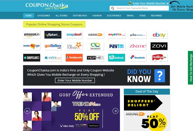Save huge bucks while shopping online with CouponChaska