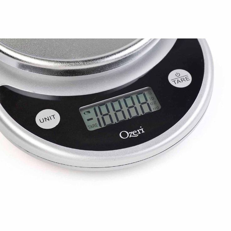 Food Scale Home Kitchen Digital Electronic Automatic LCD Display Oz Grams, Black…