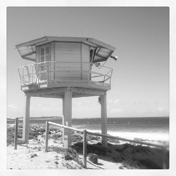 Black and White Cronulla Beach